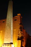The Temple of Luxor at night
