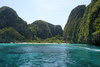 The Beach movie. Plaz z filmu Plaz neboli Maya Bay na souostrovi Kho Phi Phi.