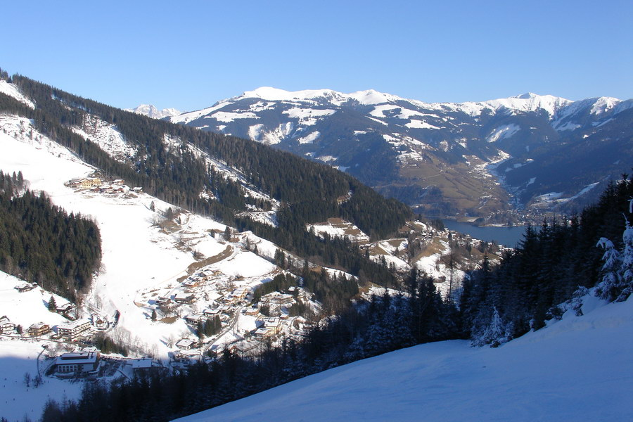 Zell am See valley